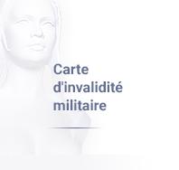 Carte d'invalidité militaire