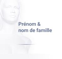 prenom & nom de famille