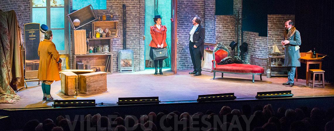 Théâtre Nouvelle - France, spectacle