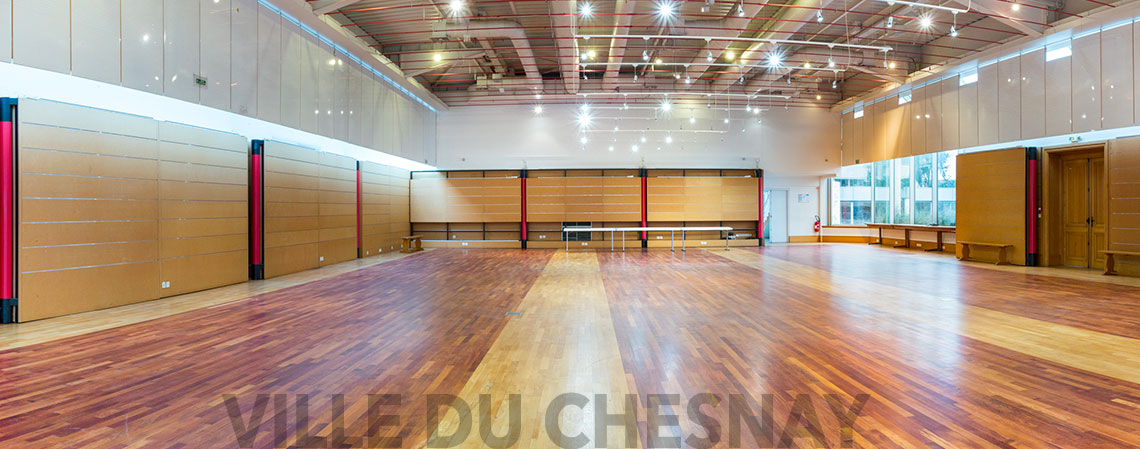 Salle d'exposition Maurice Cointe vide