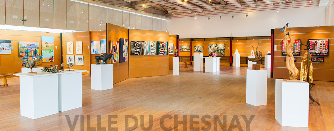 Salle d'exposition Maurice Cointe préparation