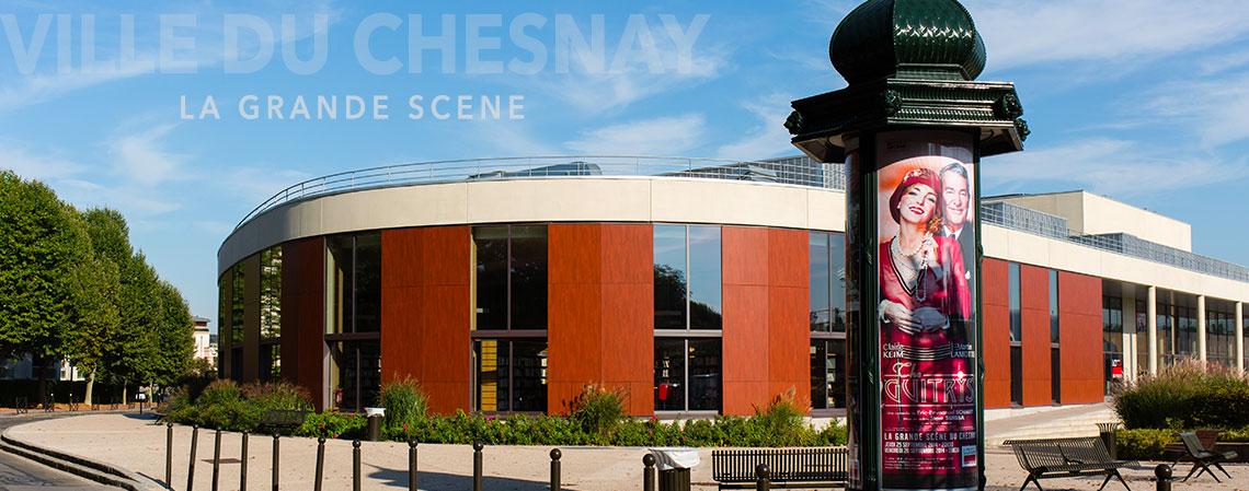 La grande Scène du Chesnay, vue de l'extérieur