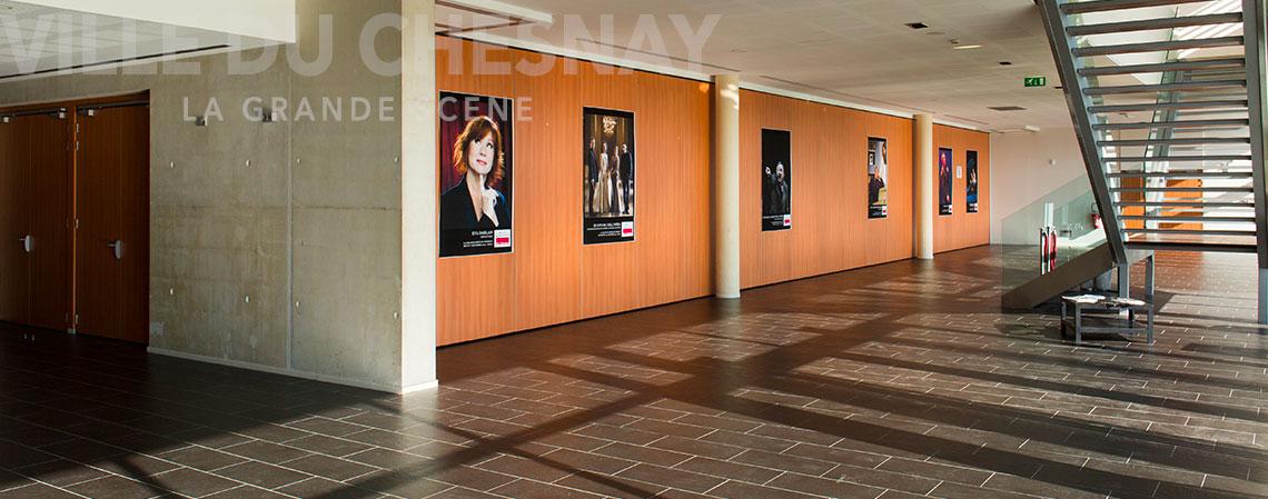 La grande Scène du Chesnay, le hall