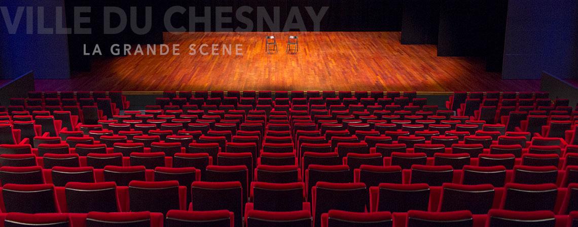 La grande Scène du Chesnay, vue de la regie