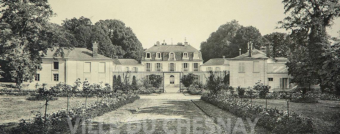 Le château du parc Aubert ou château du « Grand Chesnay »