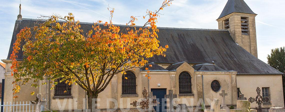 A l'église Saint Germain